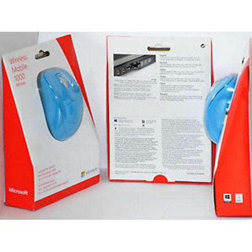 NOTEBOOK MICROSOFT WIRELESS MOBİLE USB 1000 2CF-00029 BLUE
