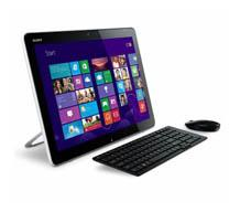 "SONY SVJ2021E9EWI CORE i3-3217U/4GB/750GB/Win8/20"" AIO DOKUNMATİK PC"